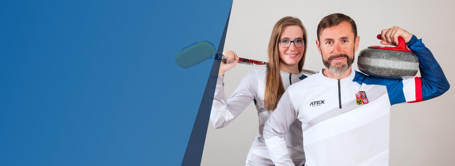 <h1>Tvářemi Olympijské kvalifikace 2017</h1> <h5>se stali skipové českých reprezentačních týmů</h5> <h2>Anna Kubešková<br /> a Jiří Snítil</h2> <p>Přijďte je v prosinci osobně podpořit do Plzně!</p>